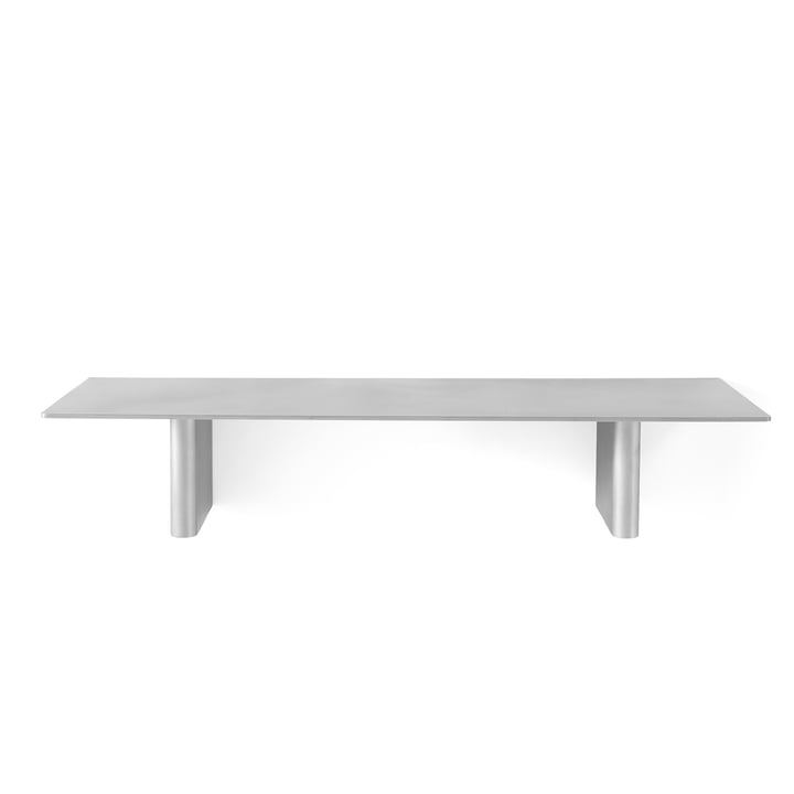 Column shelf JA2 80 x 25 cm from & tradition in aluminium
