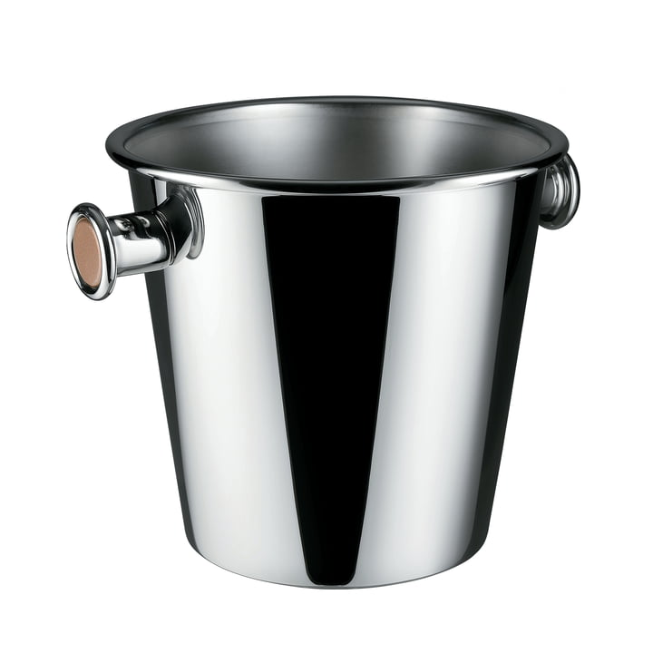 Wine cooler with handles 700 cl from Alessi in stainless steel