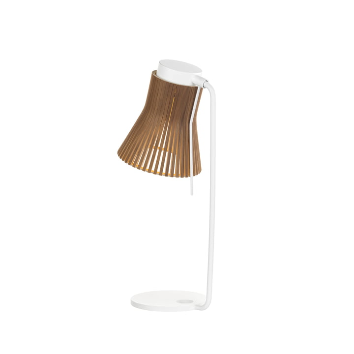 Petite 4620 Table lamp by Secto in walnut
