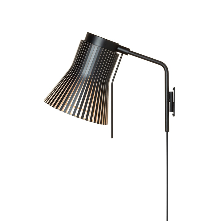 Petite 4630 wall lamp by Secto in black