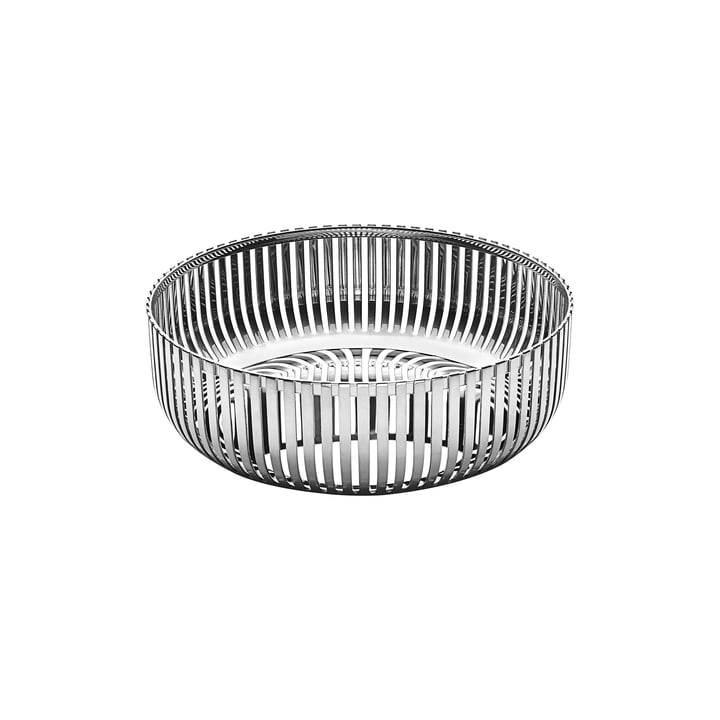 Basket bowl Ø 15 cm from Alessi in stainless steel