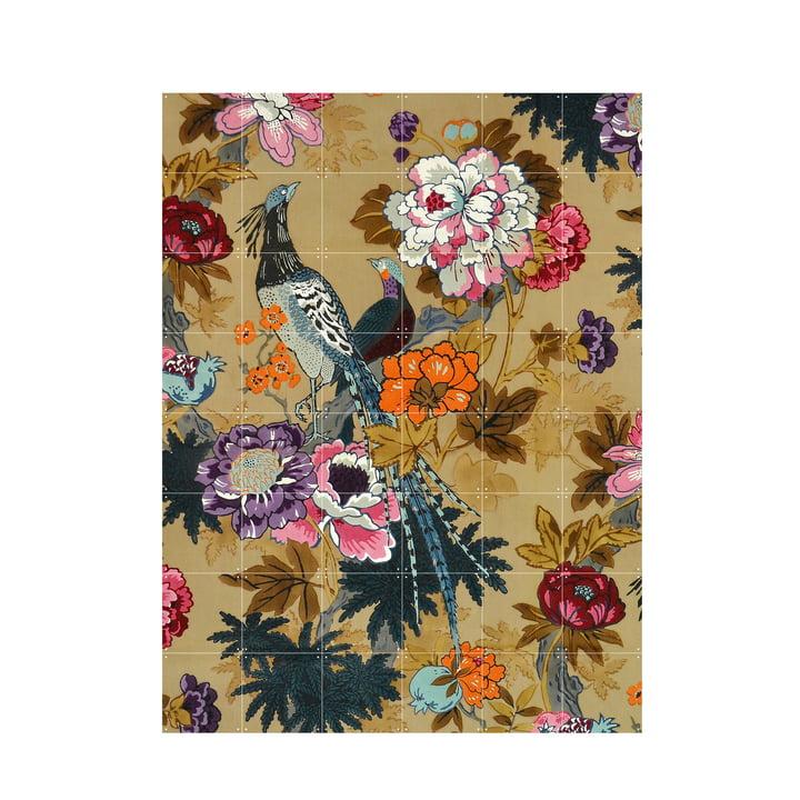 Tropical Birds (Morton Sundour Fabrics Ltd, England) 120 x 160 cm from IXXI