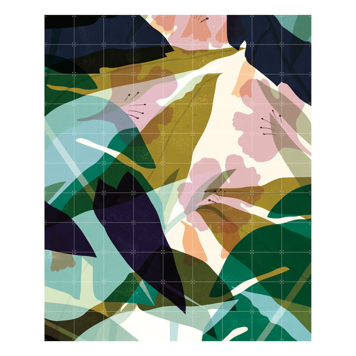 Leaves (Lotte Dirks) 180 x 220 cm from IXXI