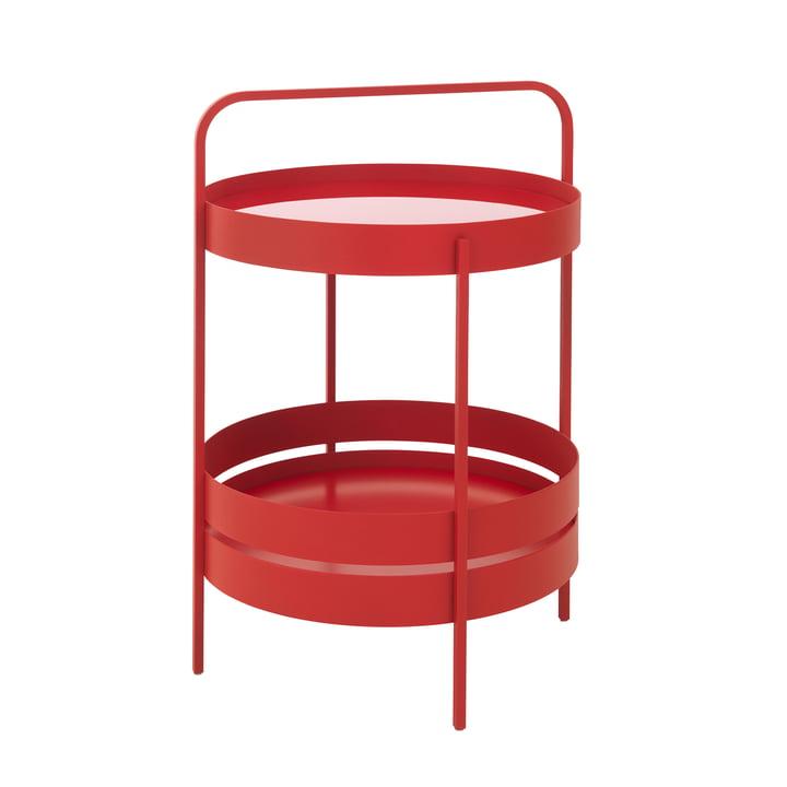 Albert side table Ø 40 cm from Schönbuch in tomato red