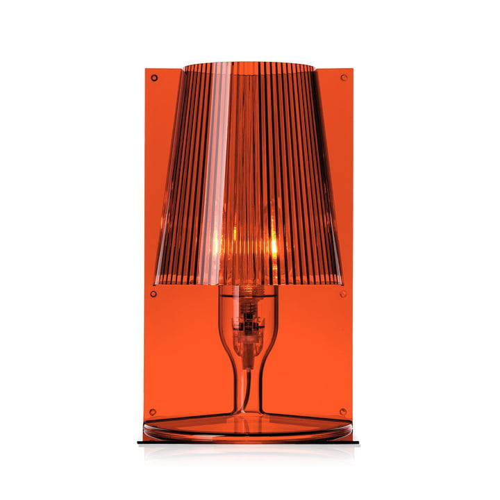 Take table lamp, amber by Kartell