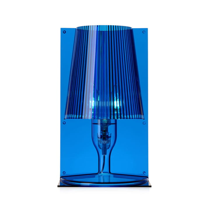 Take table lamp, blue by Kartell