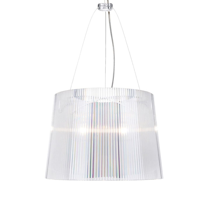 Gè pendant lamp transparent by Kartell