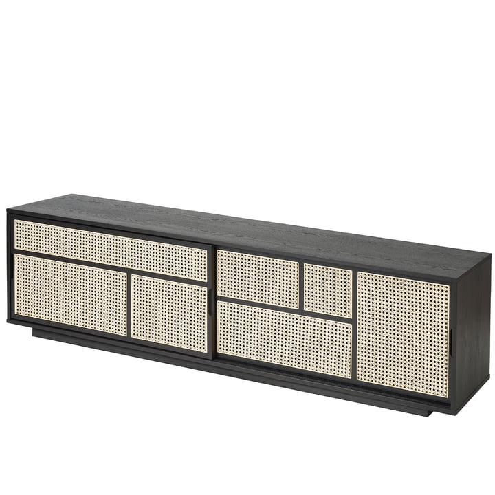 Air Sideboard / TV console from Design House Stockholm in black