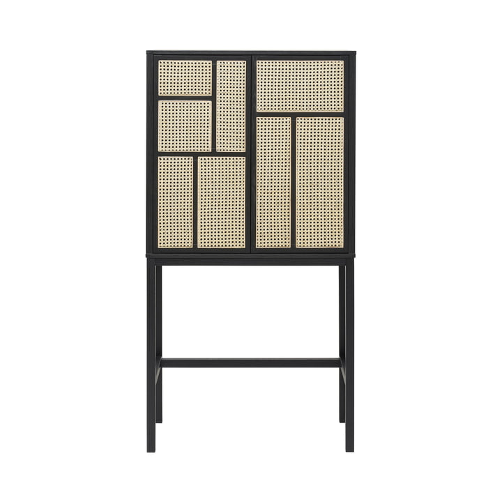 Air wardrobe by Design House Stockholm in black