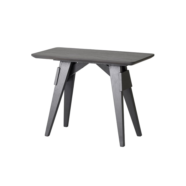 Arco side table by Design House Stockholm in black