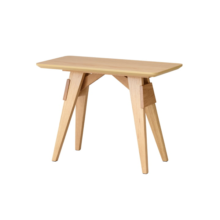 Arco side table by Design House Stockholm in oak