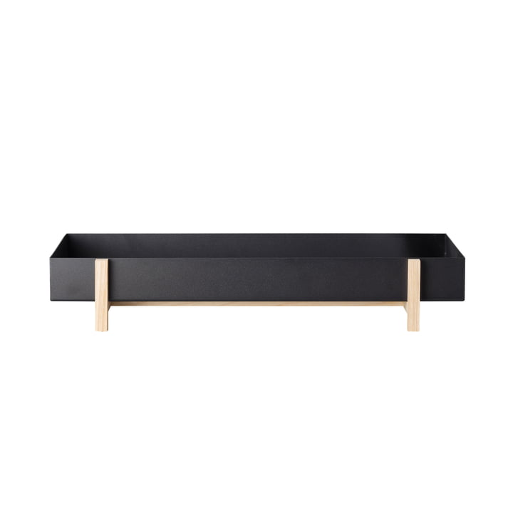 Flower Tray by Design House Stockholm in ash / black