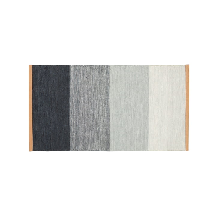 Fields carpet 70 x 130 cm from Design House Stockholm in blue / grey