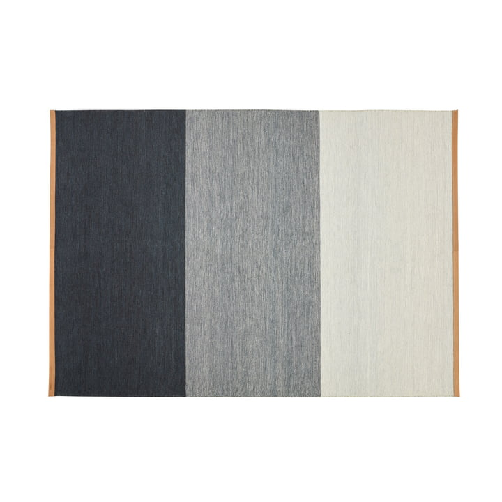Fields carpet 170 x 240 cm from Design House Stockholm in blue / grey