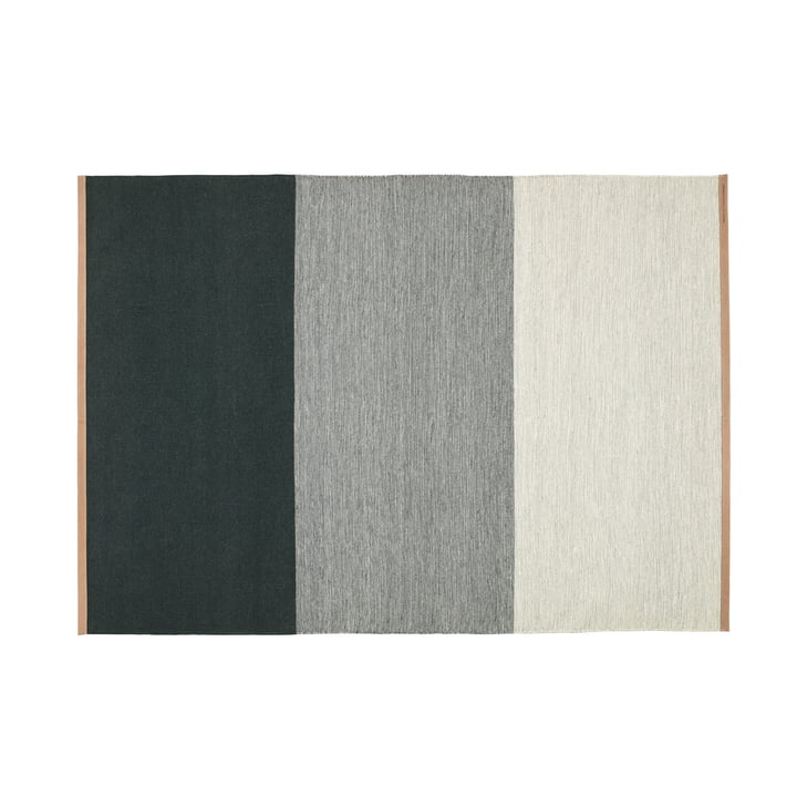 Fields carpet 170 x 240 cm from Design House Stockholm in green / grey