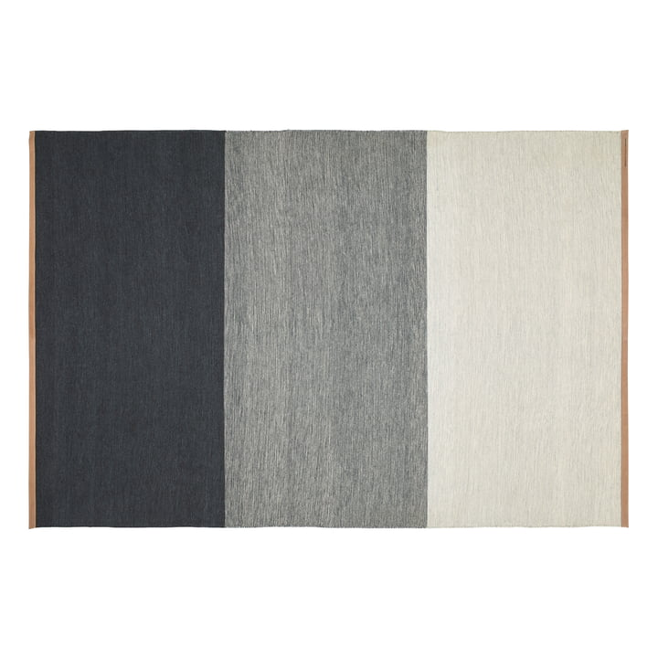 Fields carpet 200 x 300 cm from Design House Stockholm in blue / grey
