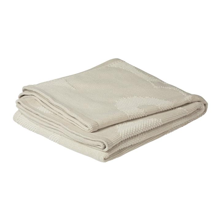Unikko blanket 130 x 170 cm, off-white by Marimekko
