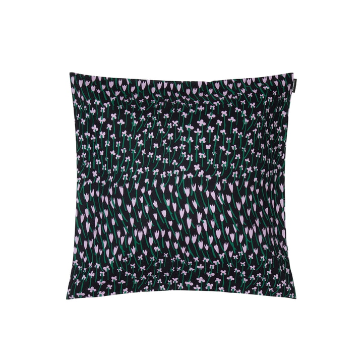 Apilainen cushion cover 45 x 45 cm, dark blue / purple / green by Marimekko