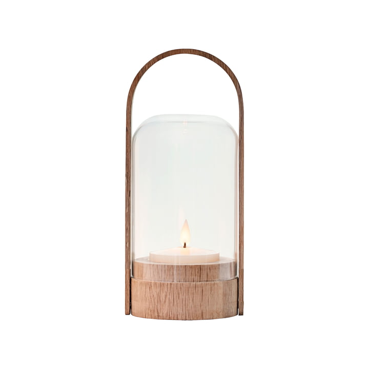 Candlelight table lamp from Le Klint in oak