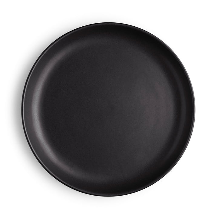 Nordic Kitchen plate Ø 21 cm by Eva Solo in black