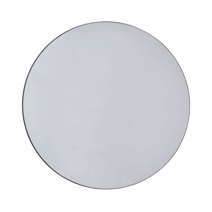 Walls Mirror, Ø 110 cm / grey from House Doctor