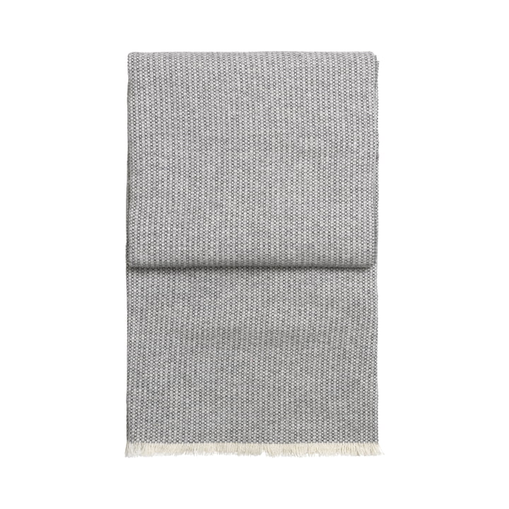 Bricks blanket, white / light grey / grey by Elvang