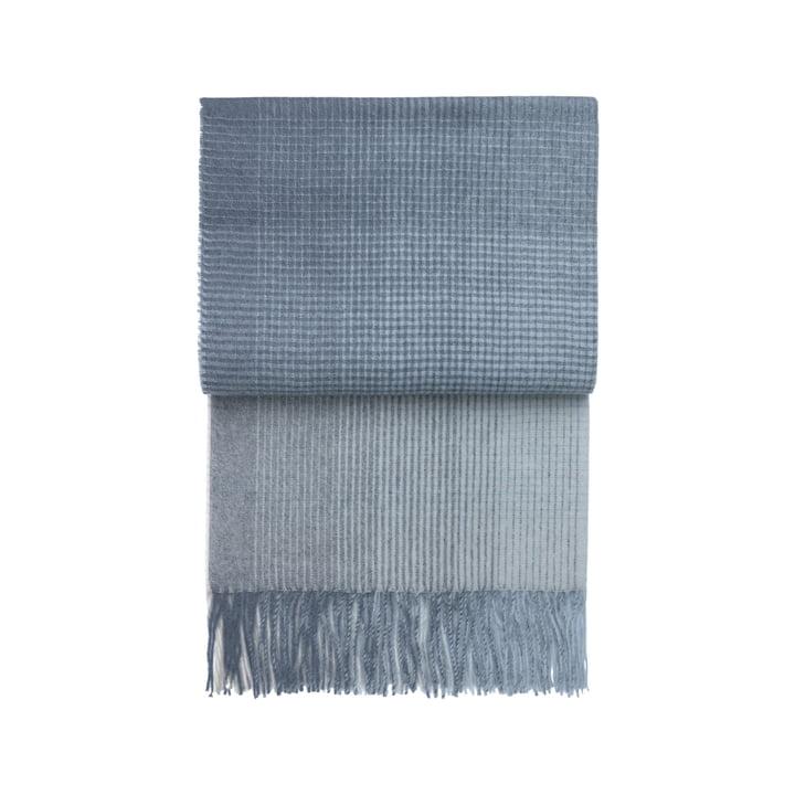 Horizon blanket, midnight blue by Elvang