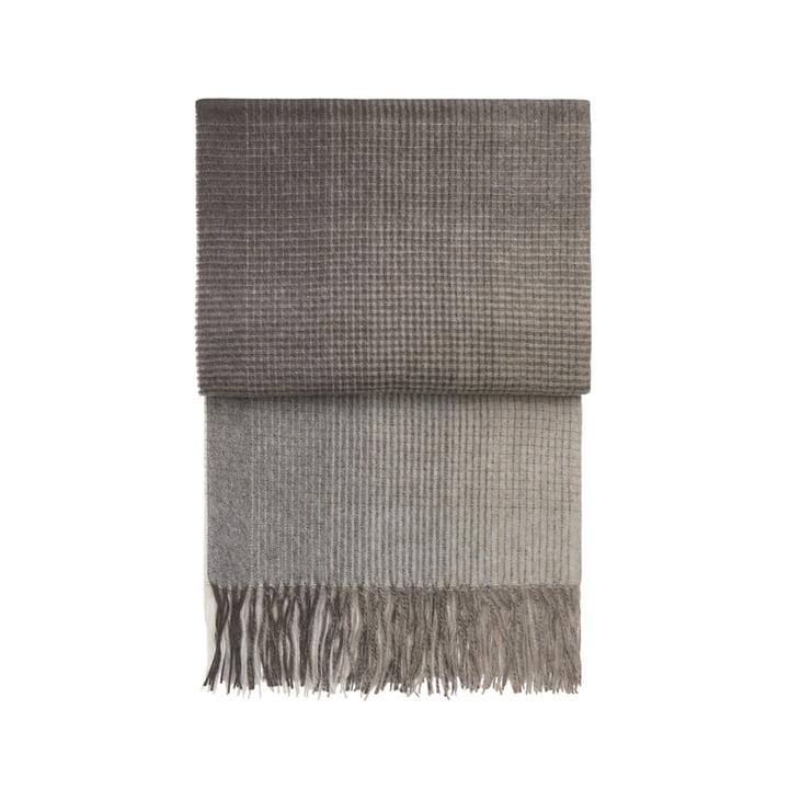 Horizon blanket, brown by Elvang
