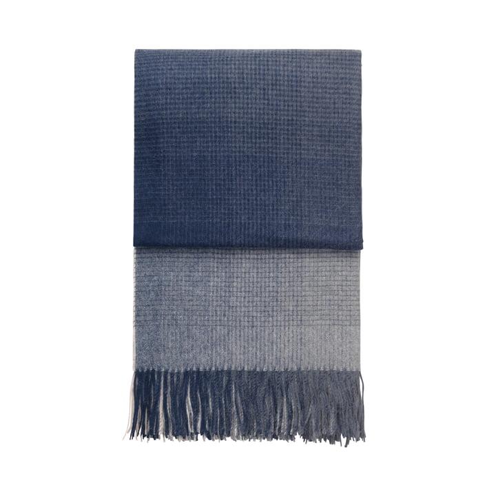 Horizon blanket, dark blue by Elvang