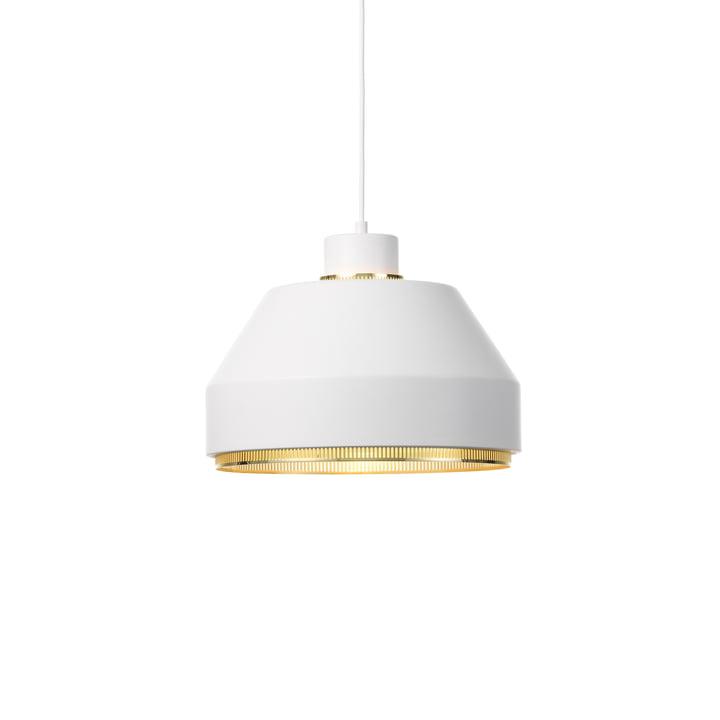 AMA500 pendant light from Artek in brass / white