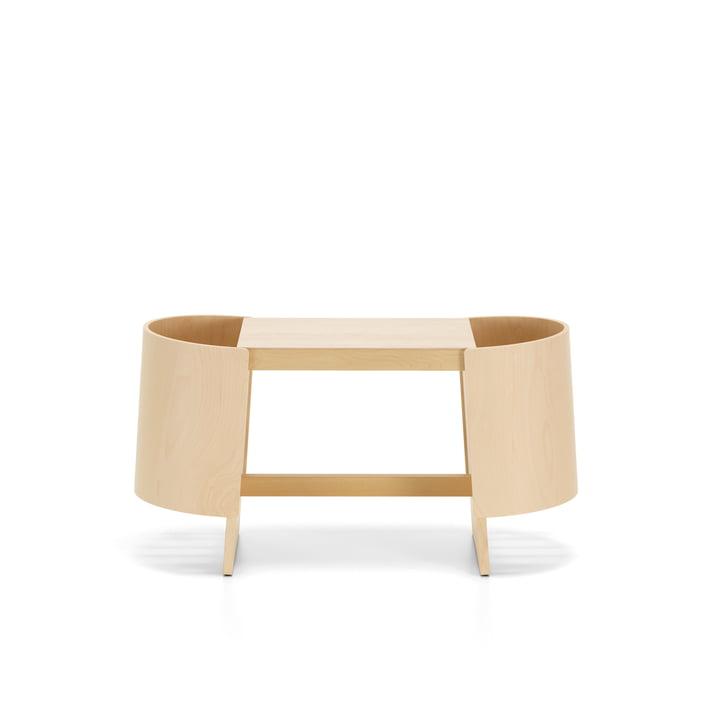 Kiulu bench W 88 x 36 cm by Artek in birch clear varnished