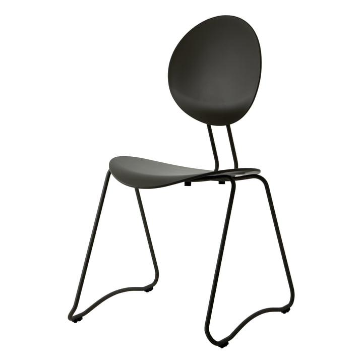 Flex Chair, RAL 9011 black by Verpan