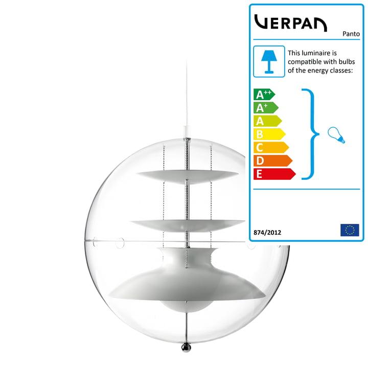 Panto pendant lamp Ø 40 cm from Verpan