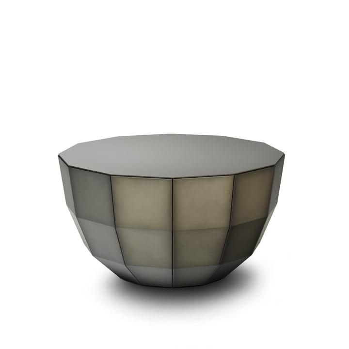 MO 08, coffee table from Müller Möbelfabrikation in smoke matt