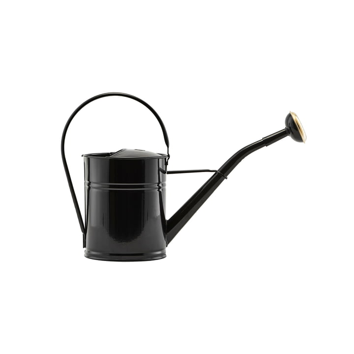 Watering can 2 l, black by House Doctor