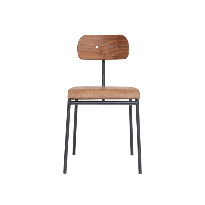School chair, brown by House Doctor