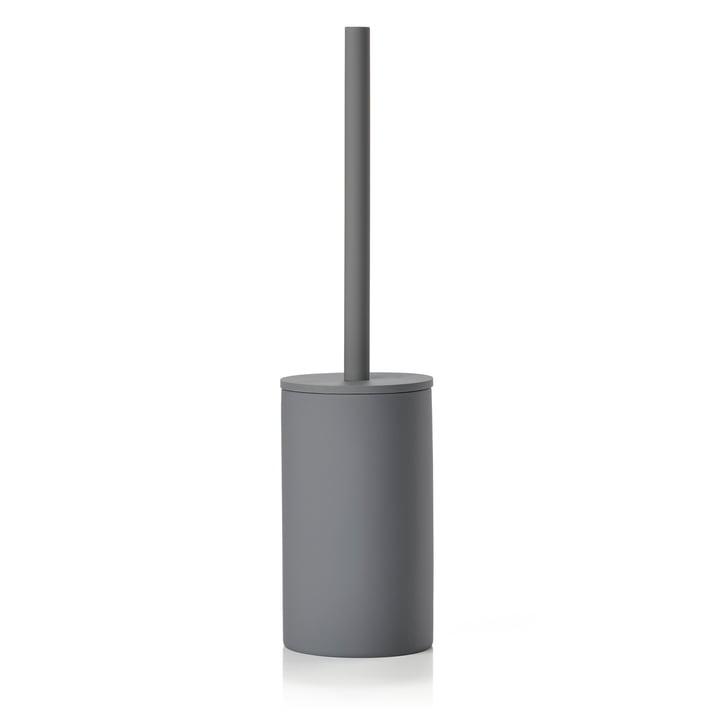Karma Toilet Brush from Zone Denmark in grey