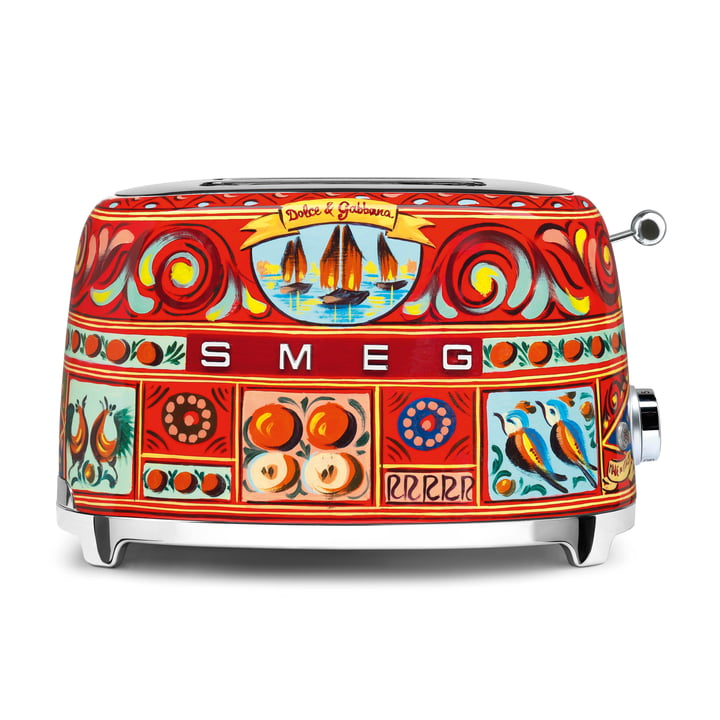 2-Slices Toaster TSF01 Dolce & Gabbana by Smeg