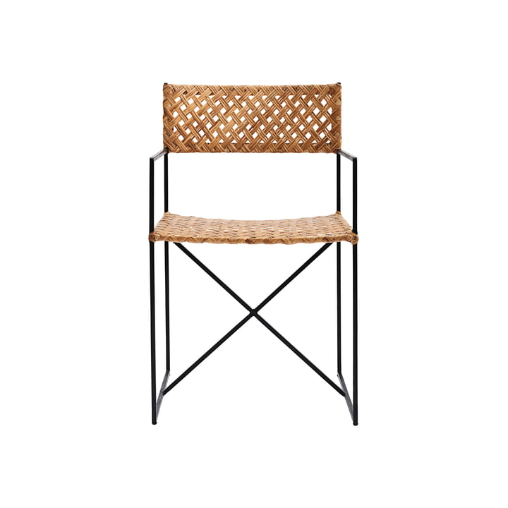 Oscar rattan chair by House Doctor in natural