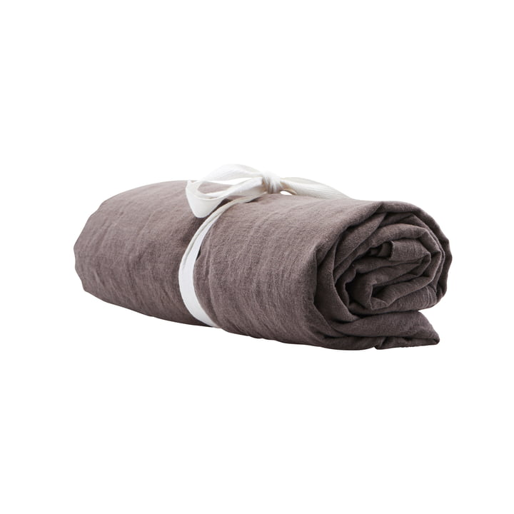 By Linen tablecloth 250 x 140 cm by House Doctor in grey