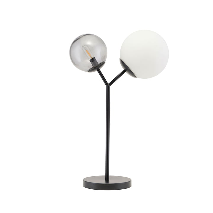 Twice table lamp H 42 cm by House Doctor in black