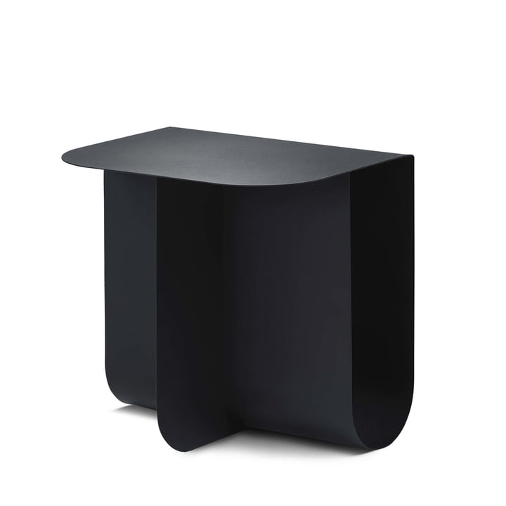 Mass side table, black by Northern