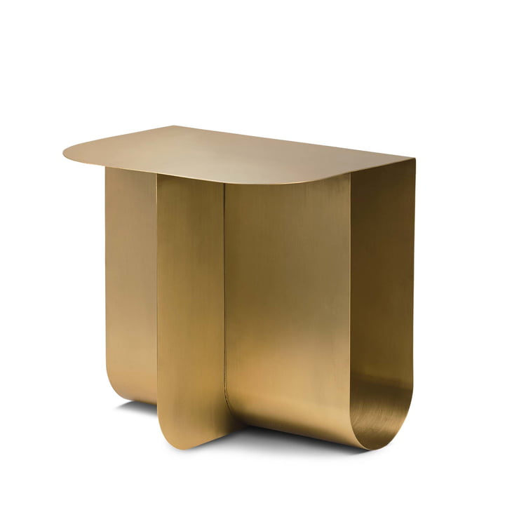 Mass side table, brass from Northern