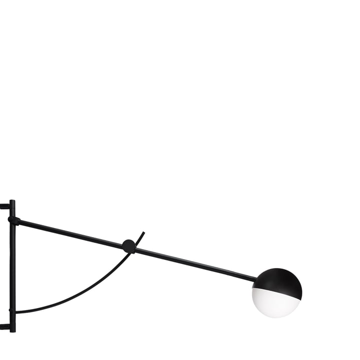 Balancer wall lamp by Northern in black