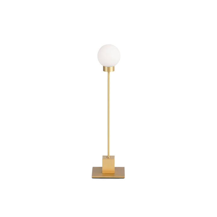 Snowball table lamp H 41 cm, brass from Northern