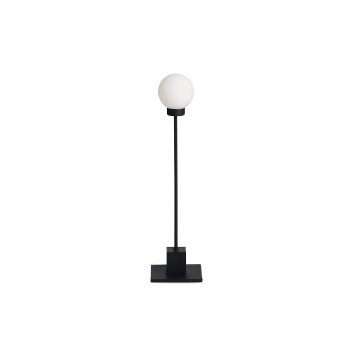 Snowball table lamp H 41 cm, black by Northern
