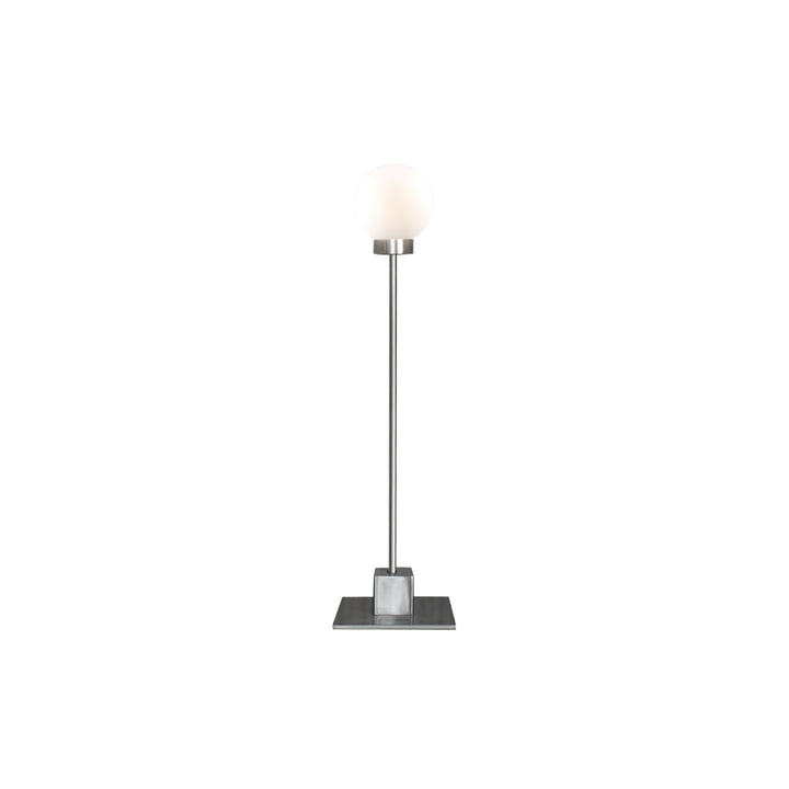 Snowball table lamp H 41 cm, silver by Northern