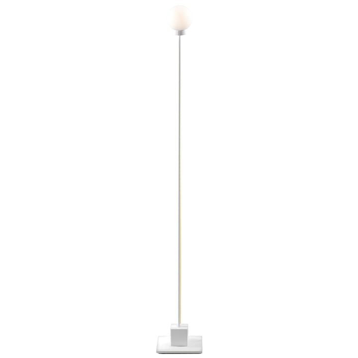 Snowball floor lamp H 117 cm, white from Northern