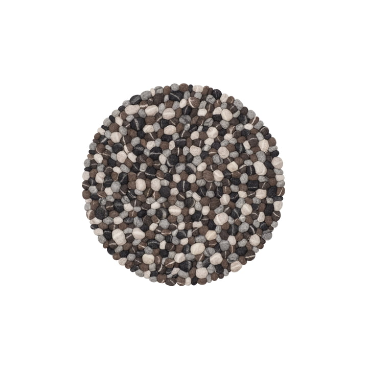 Hardy felt ball carpet Ø 50 cm from myfelt