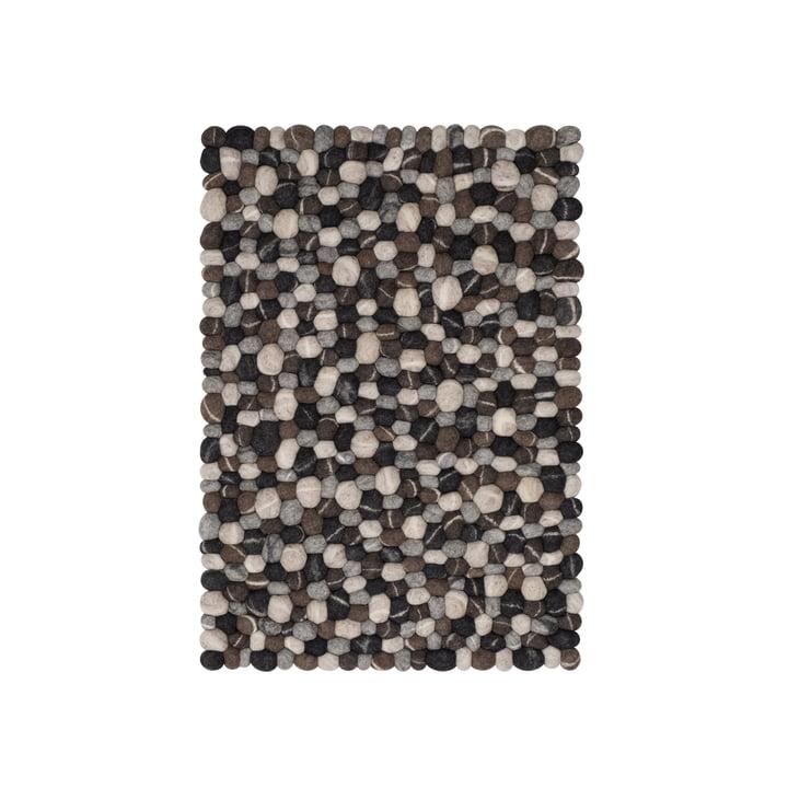 Hardy felt ball carpet 70 x 100 cm by myfelt